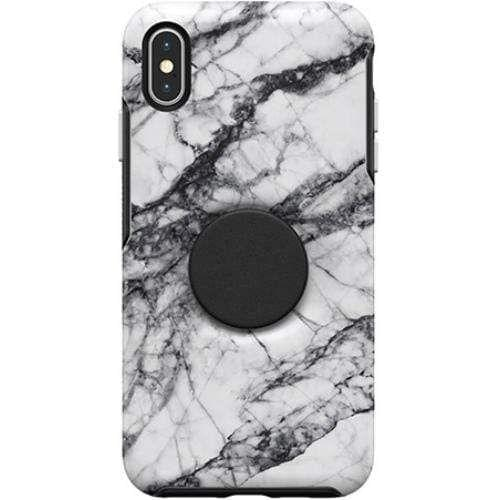 OtterBox + POP Symmetry iPXS Max White Marble