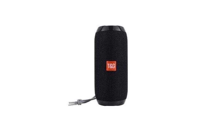 T&G Portable Bluetooth Speaker Black