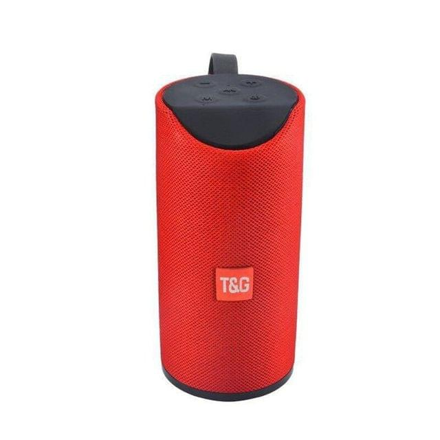 T&G Portable Bluetooth Speaker Red
