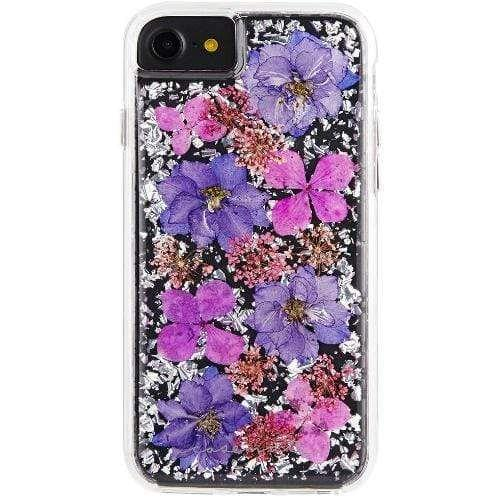 Case-Mate - Karat Petals with Real Flowers - iPhone 6 / 7 / 8 - Purple