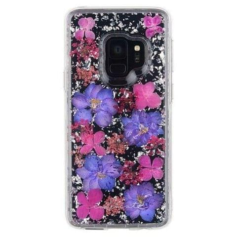 Case-Mate - Karat Petals with Real Flowers - SAMSUNG GS9 - Purple