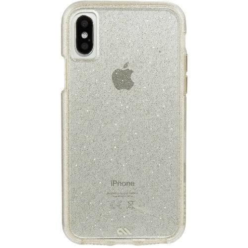 Case-Mate - Naked Tough (Sparkle Effect) - iPhone X / XS - Sheer Glam