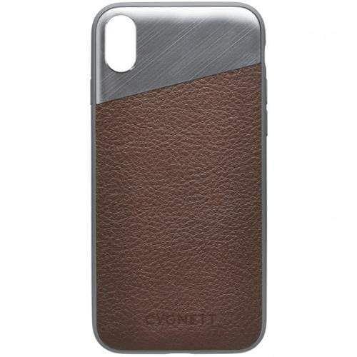 CYGNETT - Element Leather Case - iPhone X / XS - Brown