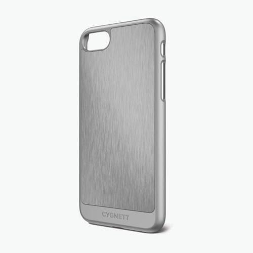 CYGNETT - UrbanShield Aluminium Inlay - iPhone 7 / 8 - Silver Grey