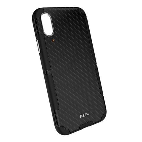 EFM Cayman D30 Case Armour - iPhone XS MAX - Karbon