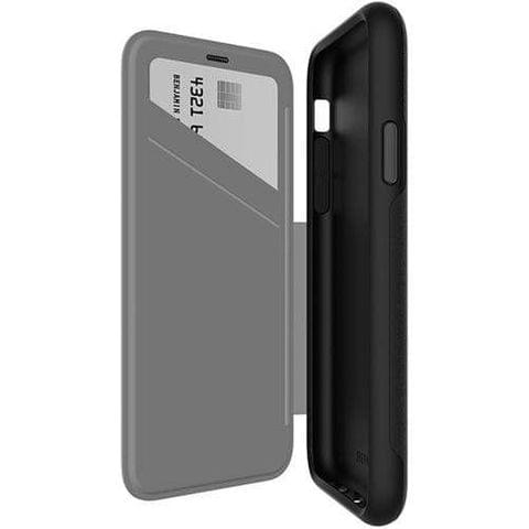 EFM MONACO D3O Wallet Case - APPLE iPhone XS Max 6.5' - BLACK