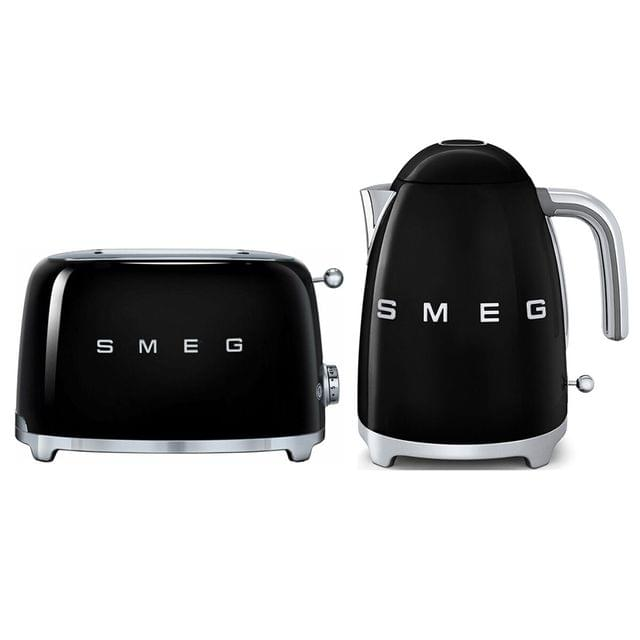 Black Friday Pack with Black Kettle and 2 Slice Toaster