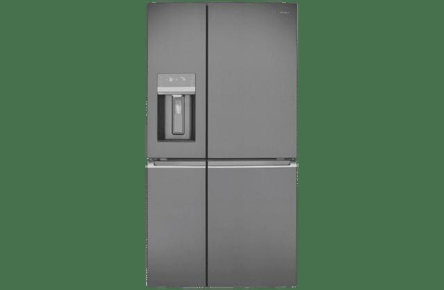 680L French Door Fridge w/ Ice & Water - Dark S/S