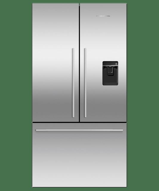 614L Freestanding French Door Fridge w/ Ice & Water