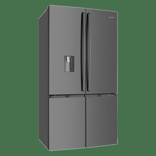 600L French Door Fridge w Double Door Freezer