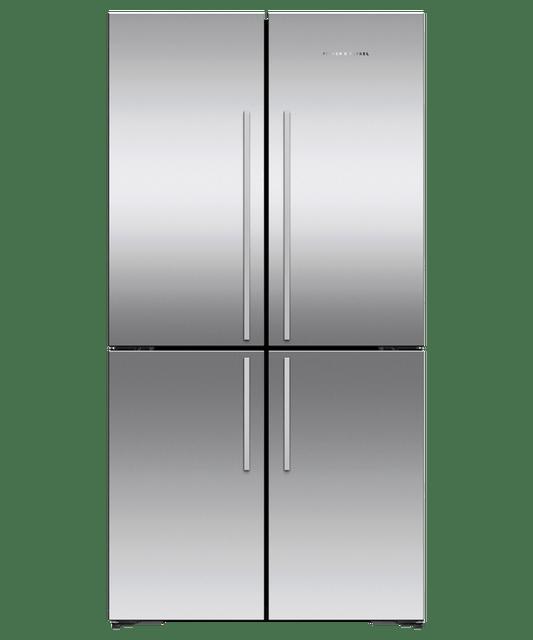 605L 4 Door French Door Fridge w/ Ice & Water - S/S