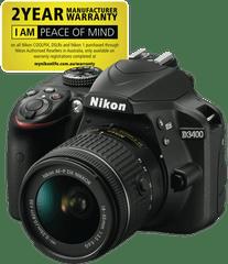 NIKON D3400 Single Lens Kit (18-55mm)