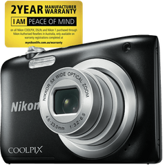 NIKON Coolpix A10 Black Digital Camera