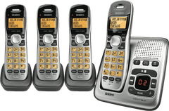 UNIDEN Cordless 1735 Phone Quad Pack