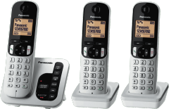 PANASONIC Cordless 223 Phone Triple Pack