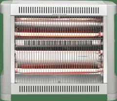 GVA 2400W 3 Bar Grey Radiant Heater