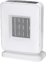 GOLDAIR 1800W Electronic White Ceramic Heater