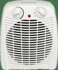 GVA 2000W Upright White Fan Heater