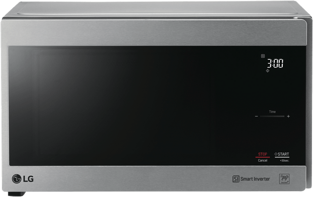 LG 25L 1100W Stainless Steel Microwave