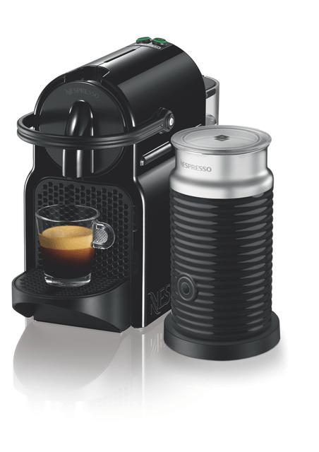 NESPRESS Inissia Capsule Coffee Machine Black