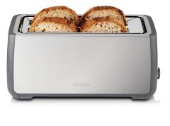 SUNBEAM Long Slot Toaster 4 Slice Stainless