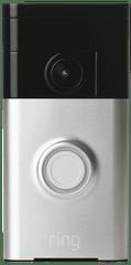 RING Video Doorbell- Satin Nickel
