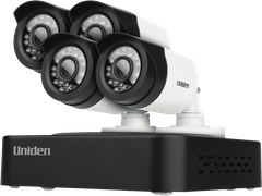 UNIDEN 4 Cam 500GB Full HD Compact CCTV System