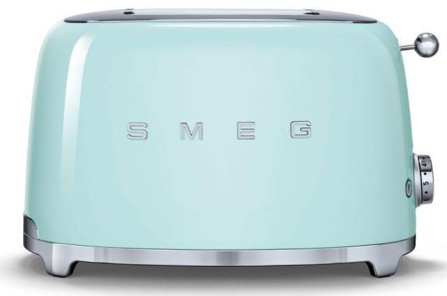 SMEG 50's Style 2 Slice Toaster - Pastel Green (TSF01PGAU)
