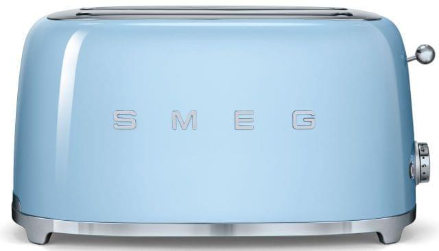 SMEG 50's Style 4 Slice Toaster - Pale Blue (TSF02PBAU)