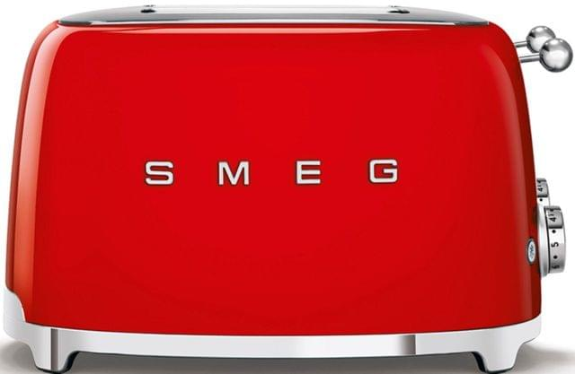 SMEG 50's Style 4 Slice Toaster - Red (TSF03RDAU)