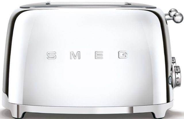 SMEG 50's Style 4 Slice Toaster - Chrome (TSF03SSAU)