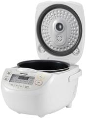 PANASONIC 1.8L 10 Cup Rice Cooker - White (SRCN188WST)