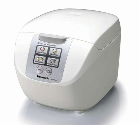 PANASONIC 10 Cup Rice Cooker - White (SRDF181WST)
