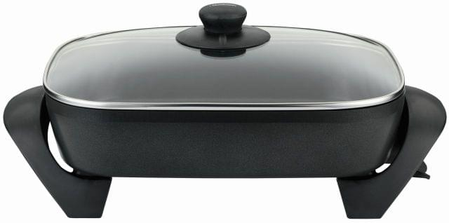 SUNBEAM Classic Banquet Electric Frypan - Charcoal (FP5910)
