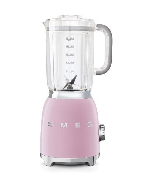 SMEG 1.5L 50's Style Blender - Pink (BLF01PKAU)