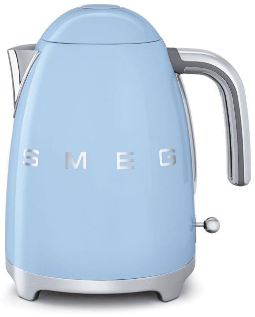 SMEG 1.7L 50's Style Stainless Steel Kettle - Pale Blue (KLF03PBAU)
