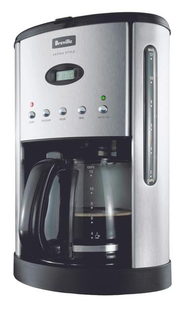BREVILLE Aroma Style Electronic Drip Coffee Machine - Black