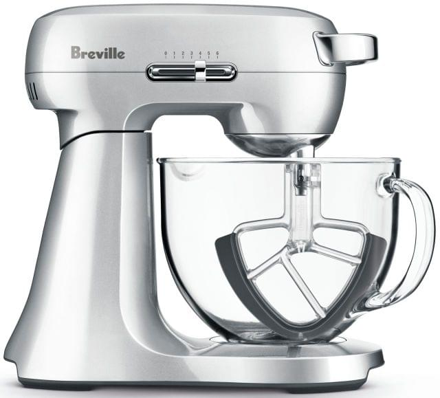 BREVILLE The Scraper Mixer Electric Mixer - Stainless Steel