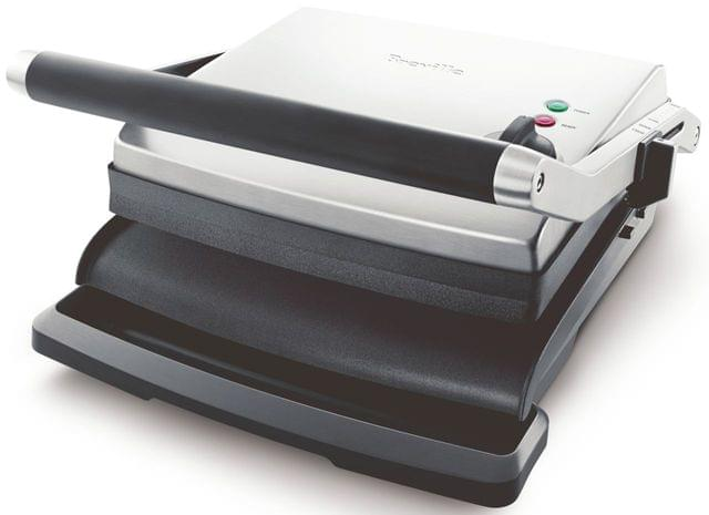 BREVILLE The Adjusta Electric Grill & Sandwich Press - Stainless Steel