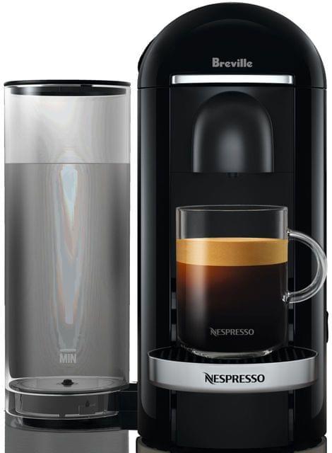 BREVILLE Nespresso Vertuo Plus Coffee Machine - Black