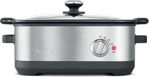 BREVILLE The Flavour Maker 7L Slow Cooker - Stainless Steel (BSC560BSS)