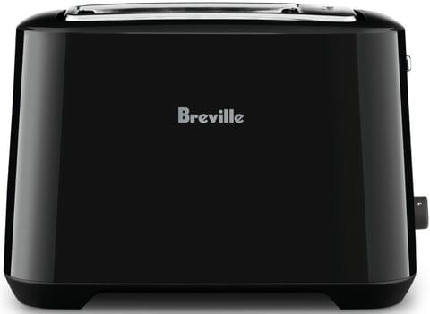 BREVILLE The Lift & Look Plus 2 Slice Toaster - Black Sesame (BTA360BKS)