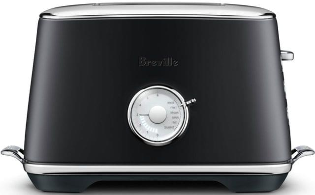 BREVILLE The Toast Select Luxe 2 Slice Toaster - Black Truffle