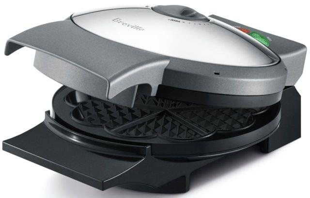BREVILLE The Crisp Control Waffle Maker - Stainless Steel