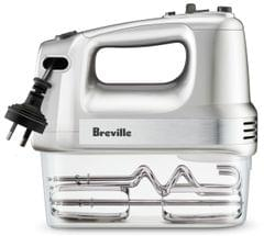 BREVILLE The Handy Mix & Store Hand Mixer - Stainless Steel