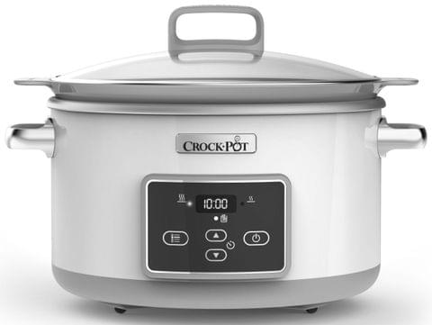 SUNBEAM 5L Sear & Slow Slow Cooker - White (CHP700)