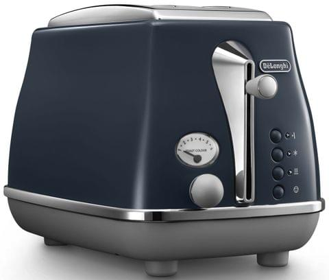 DELONGHI Icona Capitals 2 Slice Toaster - Blue (CTOC2003BL)
