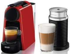 DELONGHI Nespresso Essenza Mini & Milk Coffee Machine - Red