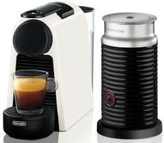 DELONGHI Nespresso Essenza Mini & Milk Coffee Machine - Whit