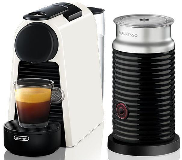 DELONGHI Nespresso Essenza Mini & Milk Coffee Machine - Whit (EN85WAE)
